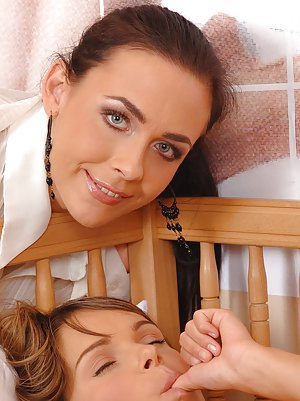 Mom and Girl Pics